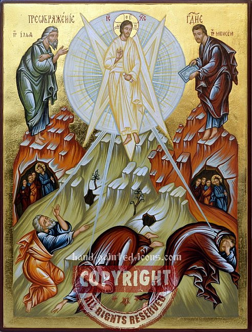 Holy Transfiguration of Our Lord and Savior Jesus Christ-Orthodox-icon